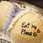 お尻ケーキ