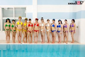 SOD女子社員 巨乳水泳大会2021